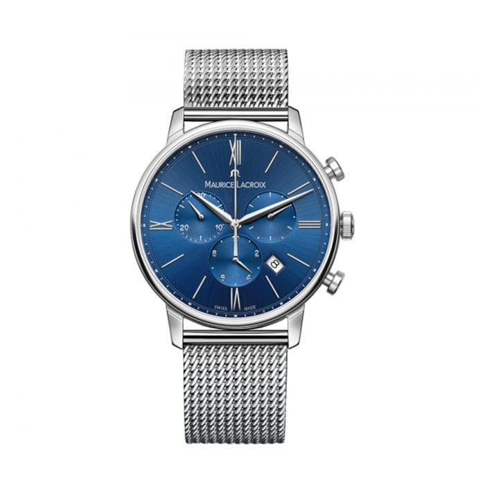 MAURICE LACROIX Eliros Chronograph Blue Dial 40mm