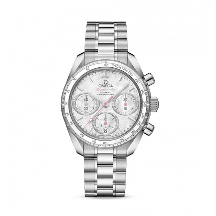 OMEGA Speedmaster Mother of Pearl Co-Axial Chronograph