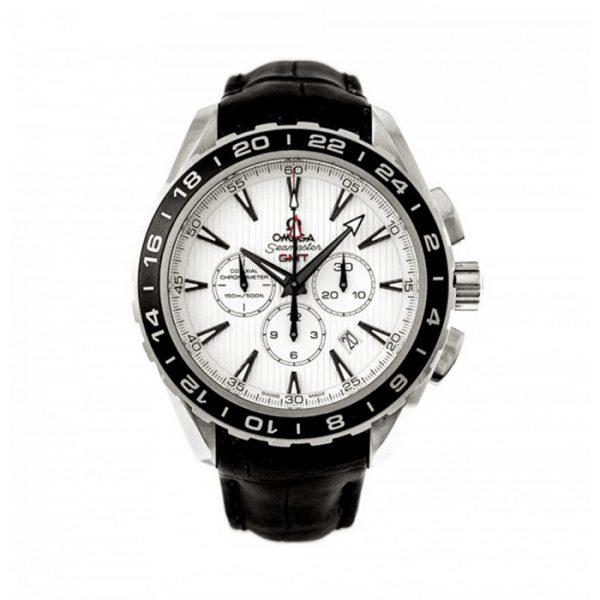 OMEGA Seamaster Aqua Terra Co‑Axial GMT Chronograph 44 mm