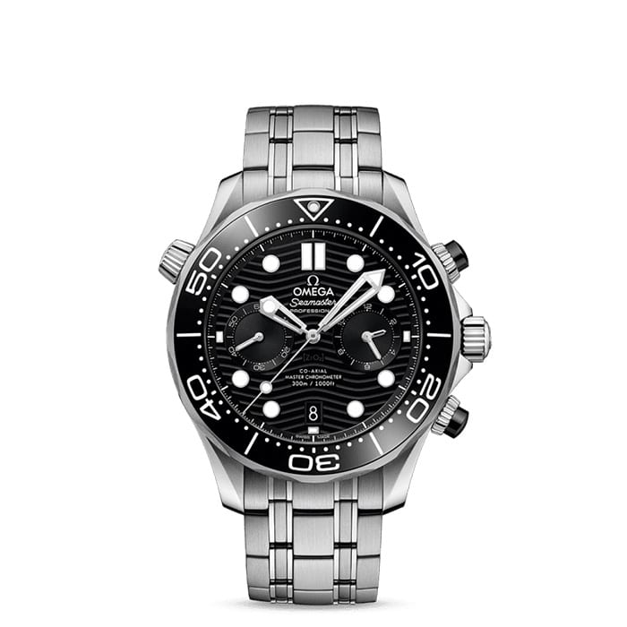 OMEGA Seamaster Diver Black 300M Co‑Axial Master Chronometer Chronograph