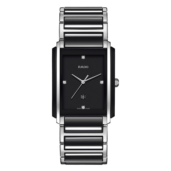 RADO Integral Diamonds Quartz Ceramic/Steel