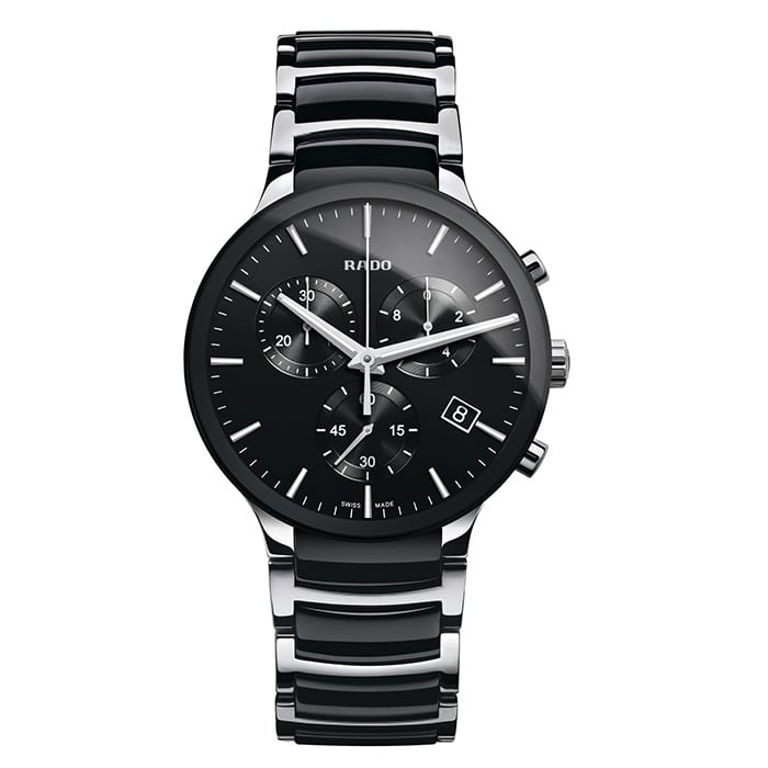 RADO Centrix Chronograph Quartz Ceramic/Steel
