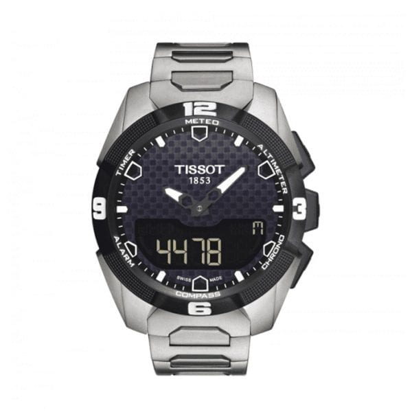 TISSOT T-Touch Expert Solar Black Dial Men's Watch