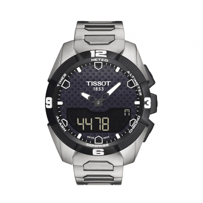 TISSOT T-Touch Expert Solar Black Dial Men's Watch