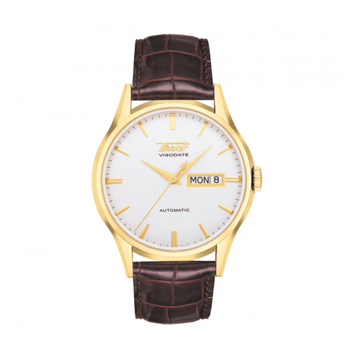TISSOT Visodate Automatic White Dial Men's Watch