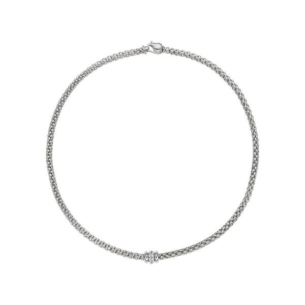 FOPE Flex'it Solo Whitegold Necklace