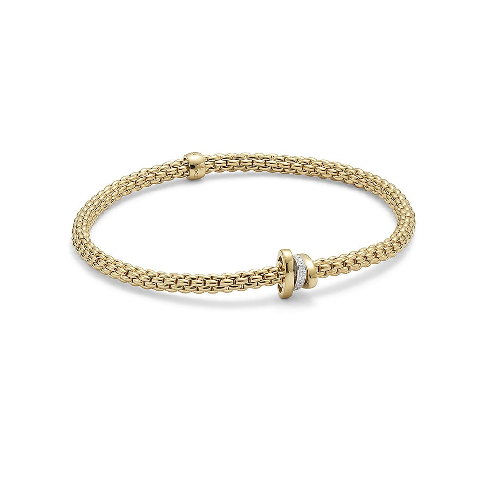 FOPE Flex'it Prima Yellowgold Bracelet