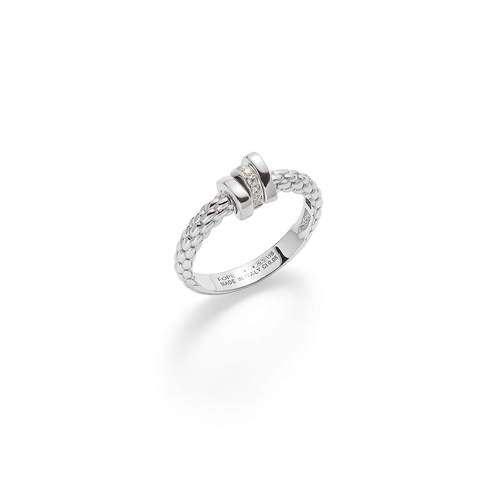 Fope Flex'it Prima Whitegold Ring