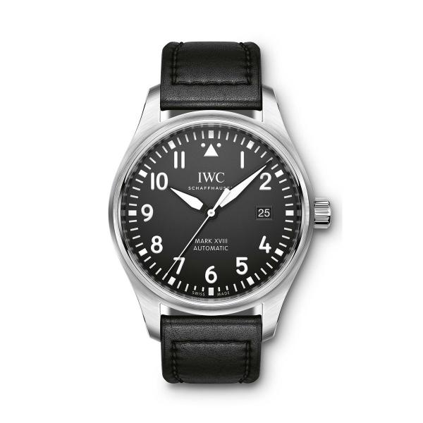 IWC Pilot's Watch Mark XVIII Automatic Black Dial