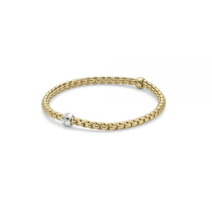 Fope Eka Tiny Yellowgold Bracelet