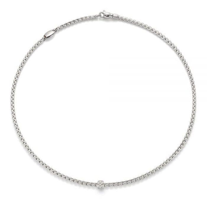 FOPE Flex'it Eka Tiny Whitegold Necklace