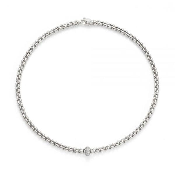Fope Flex'it Eka Whitegold Necklace