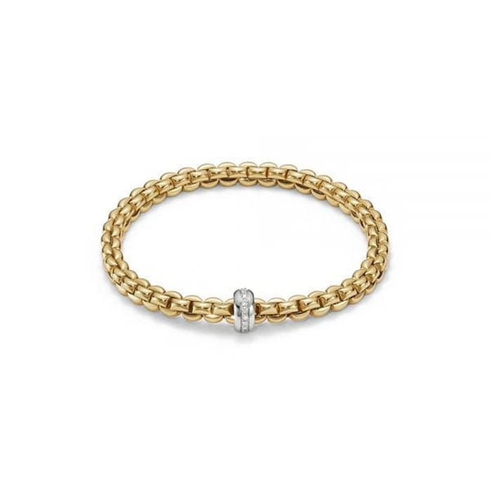 FOPE Flex'it Eka Yellowgold Bracelet