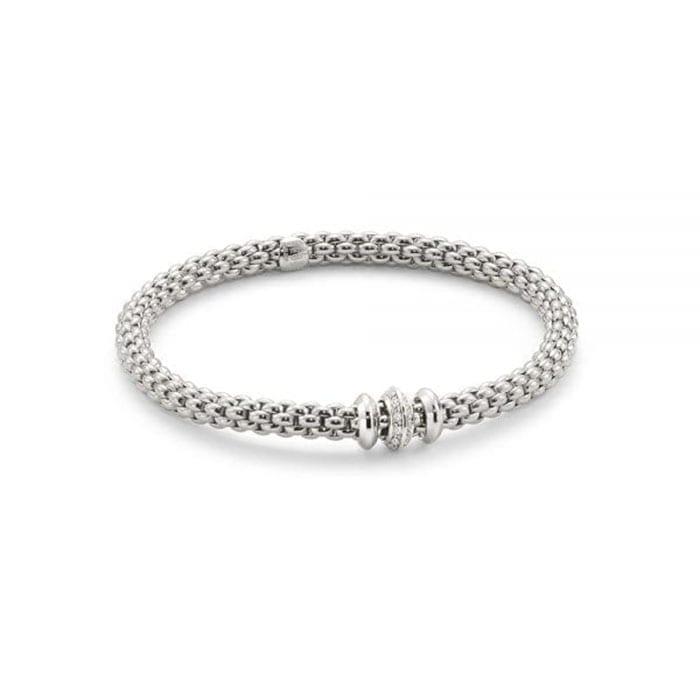 FOPE Flex'it Solo Whitegold Bracelet
