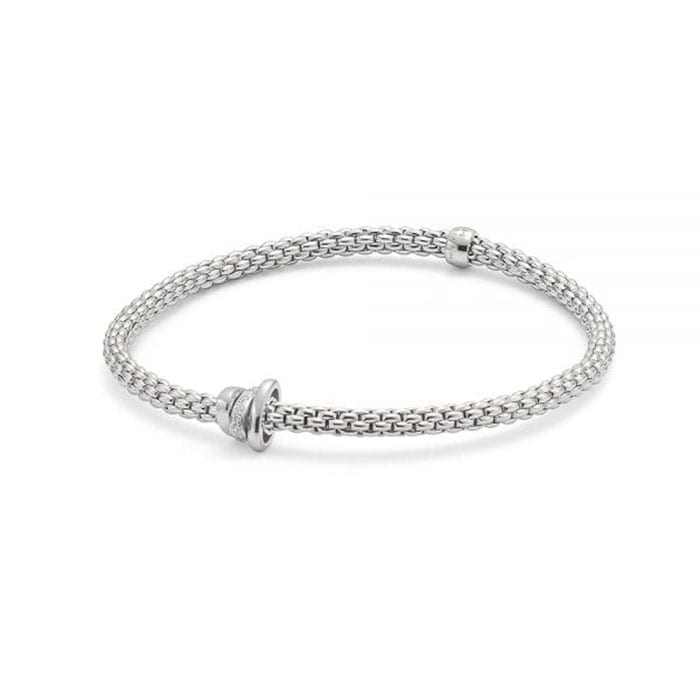 FOPE Flex'it Prima Whitegold Bracelet
