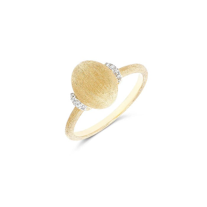 NANIS Dancing in the Rain Gold Ring
