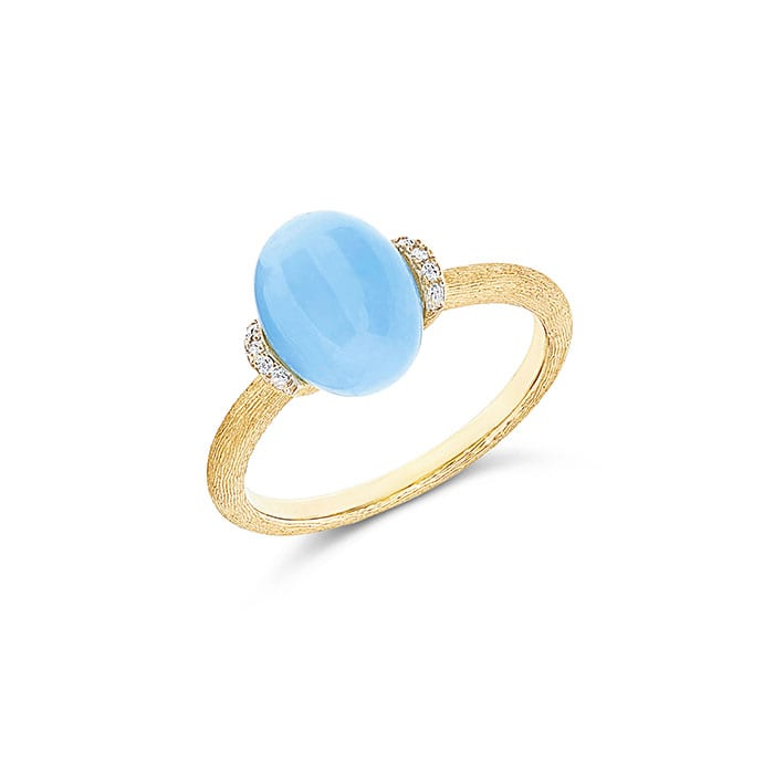 NANIS Dancing in the Rain Aquamarine Ring