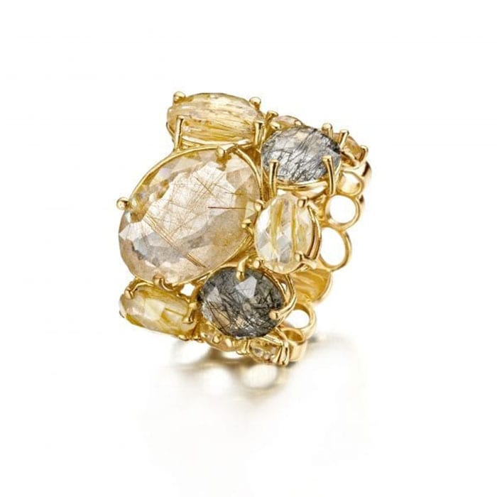 NANIS Ipanema Rutilated Ring