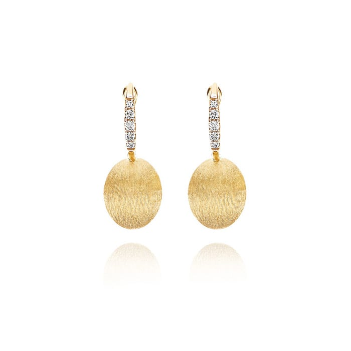 NANIS Dancing in the Rain Gold Earrings