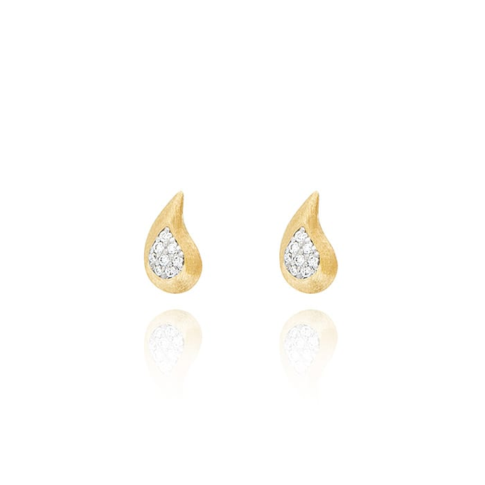 NANIS Cachemire Gold Earrings