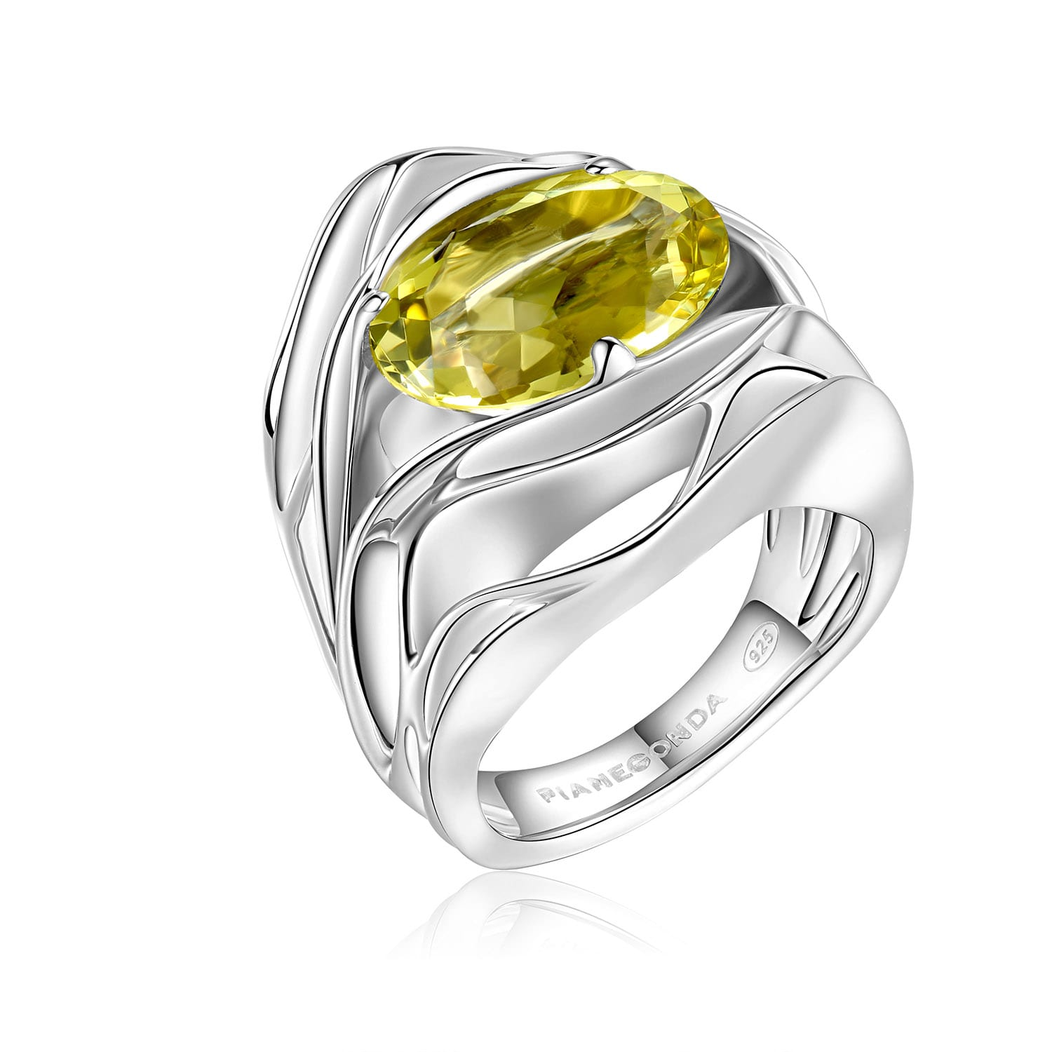 PIANEGONDA Amatum Silver Ring
