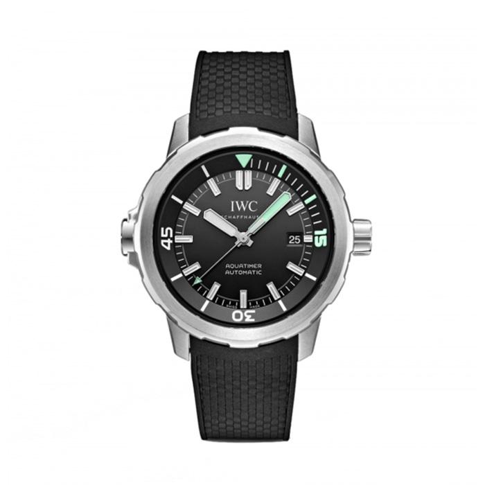 IWC Aquatimer Automatic Black Dial