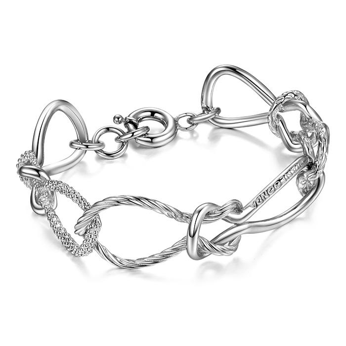 PIANEGONDA Foedus Silver Bracelet