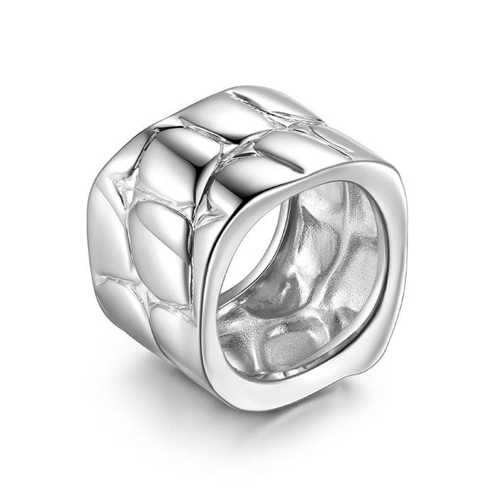 PIANEGONDA Reptilis Silver Ring