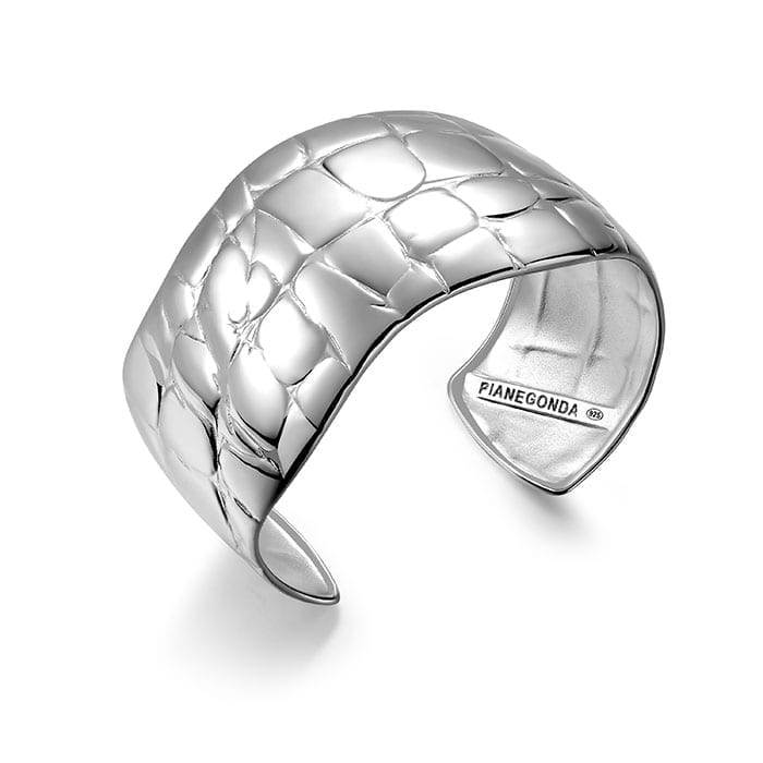 PIANEGONDA Reptilis Silver Bracelet