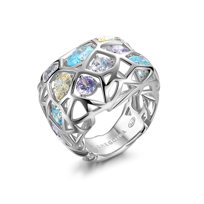 PIANEGONDA Nexum Silver Ring