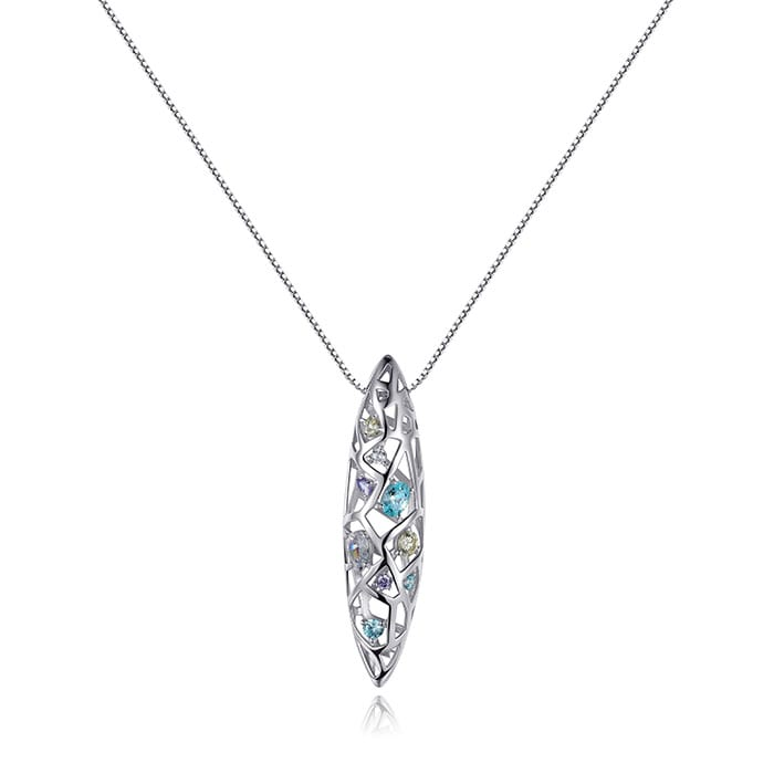PIANEGONDA Nexum Silver Necklace