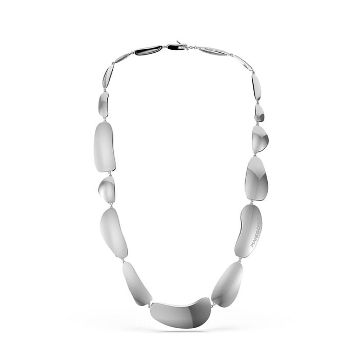 PIANEGONDA Clipea Silver Necklace