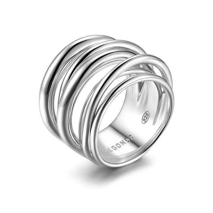 PIANEGONDA Vinctum Silver Ring