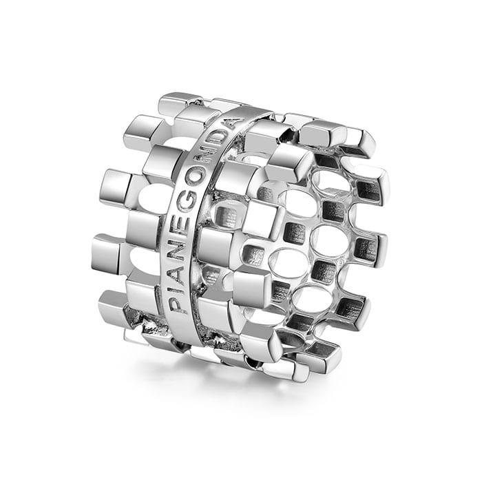 PIANEGONDA Domina Silver Ring