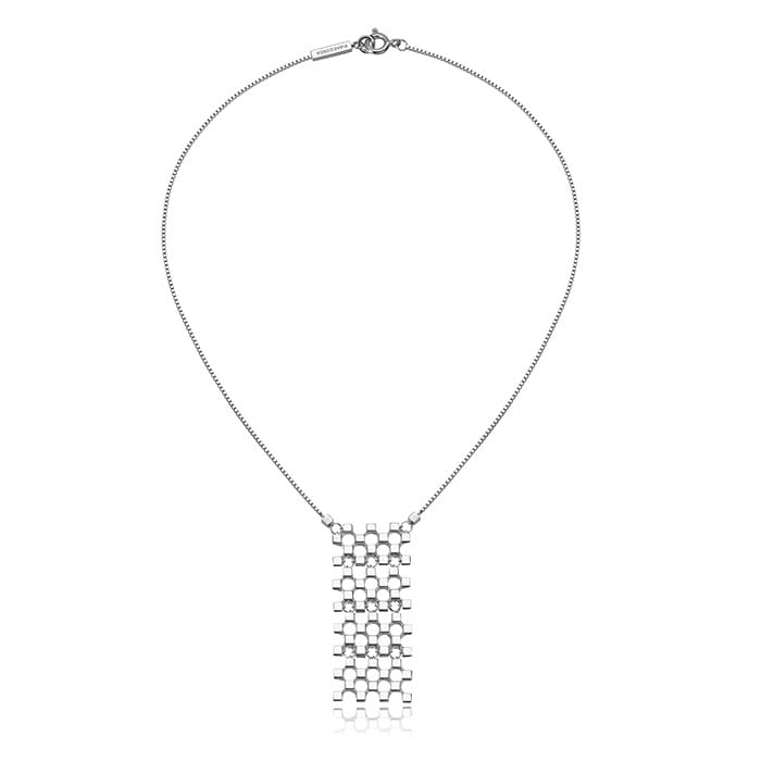 PIANEGONDA Domina Silver Necklace