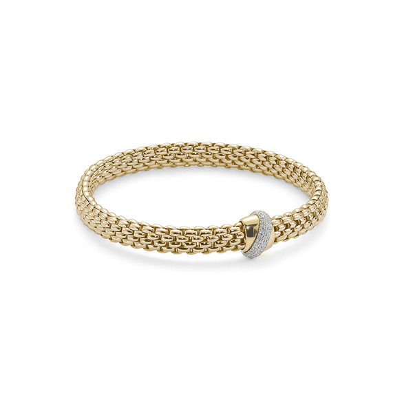 FOPE Flex´it Vendome Yellowgold bracelet
